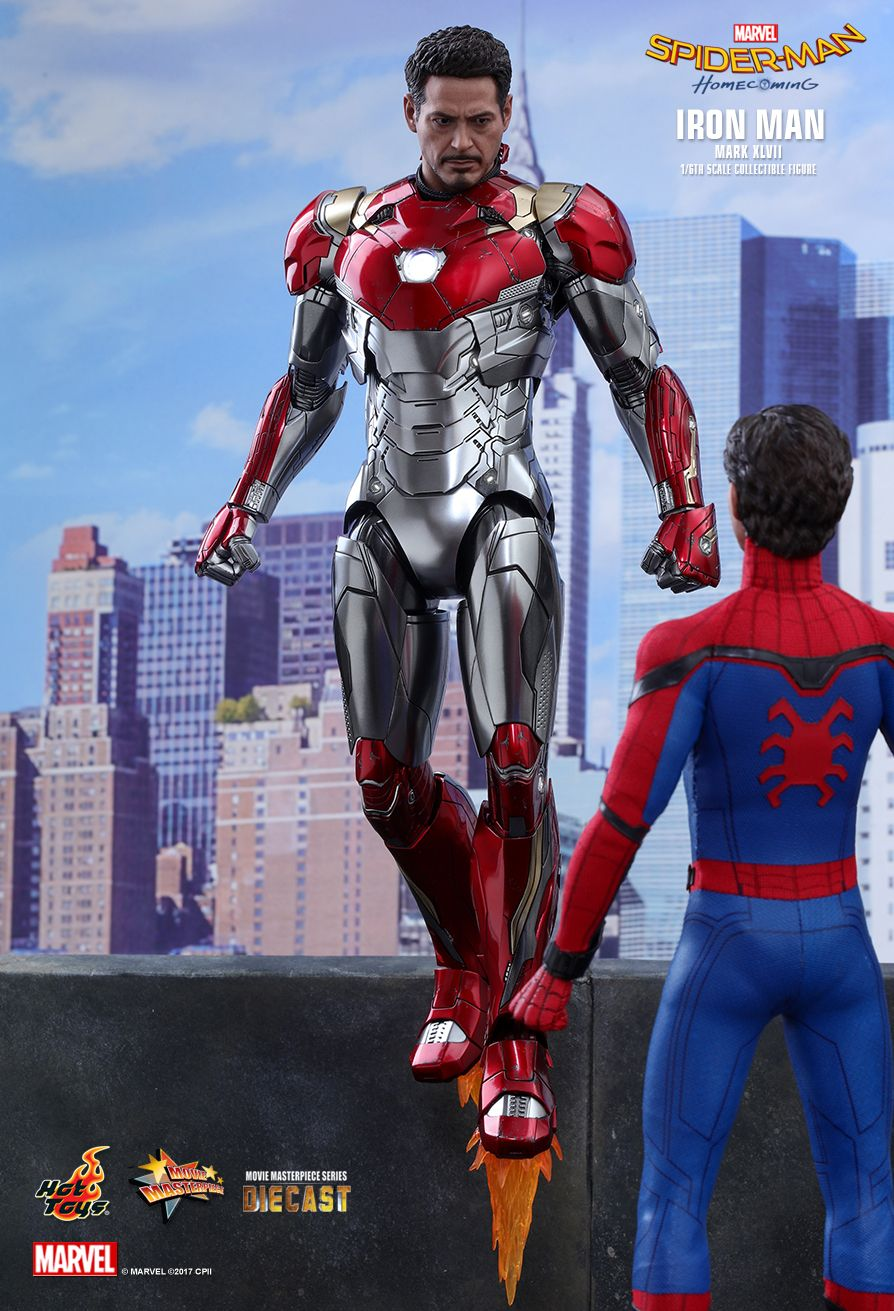 Hot Toys Spider Man Homecoming Iron Man Mark Xlvii 1