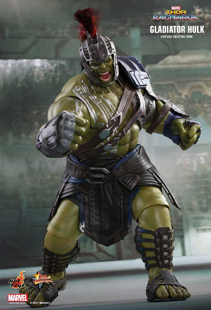 Hot Toys Thor Ragnarok Gladiator Hulk 1 6th Scale Collectible Figure