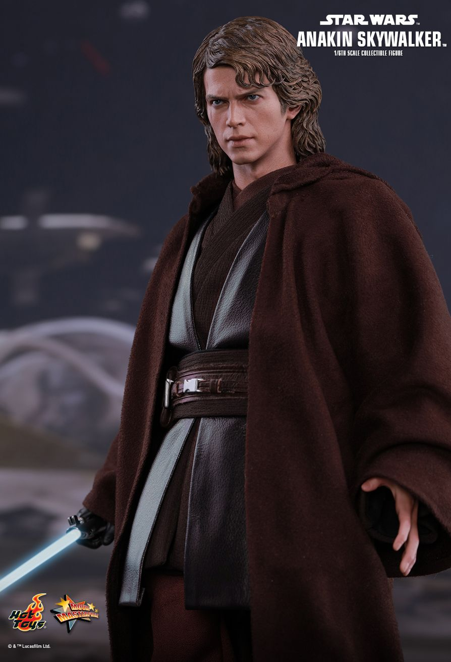 Hot Toys Star Wars Episode Iii Revenge Of The Sith Anakin Skywalker 1 6th Scale Collectible Figure