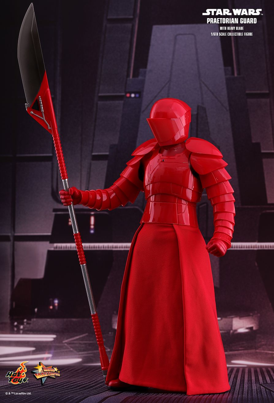 Hot Toys Star Wars Praetorian Guard HB Figure Stand loose 1//6th scale