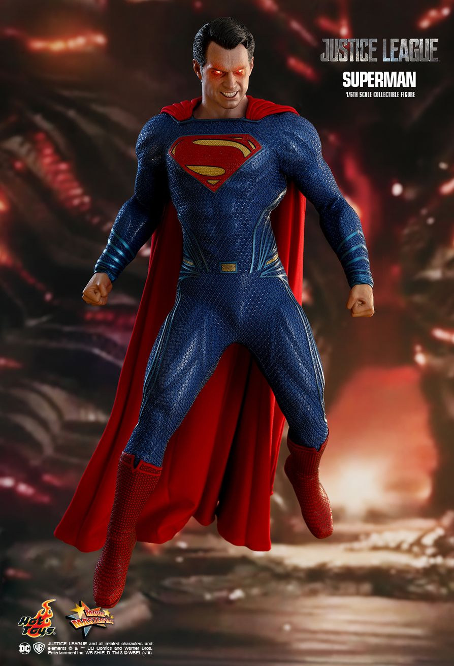 Hot toys justice league superman 16th scale collectible figure 04 stopboris Images