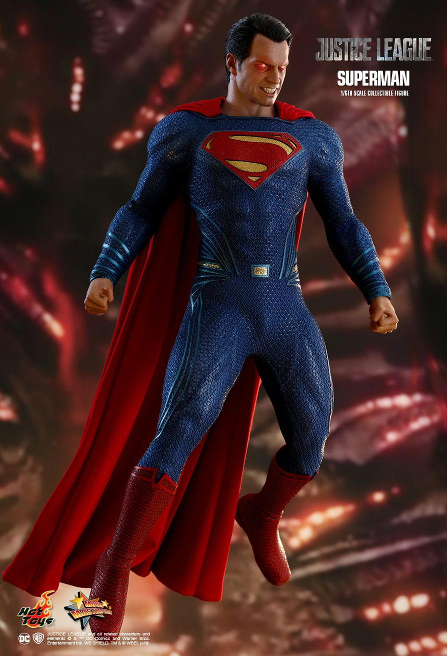 Hot Toys Justice League Superman 1 6th Scale
