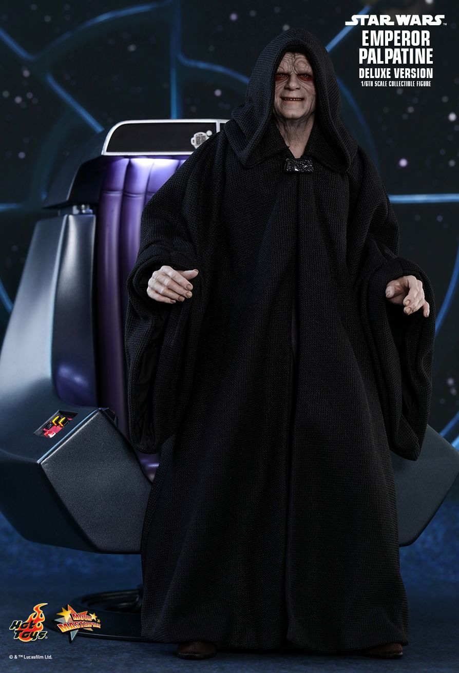 Hot Toys : Star Wars: Episode VI Return of the Jedi - Emperor Palpatine (Deluxe Version) 1/6th scale Collectible Figure
