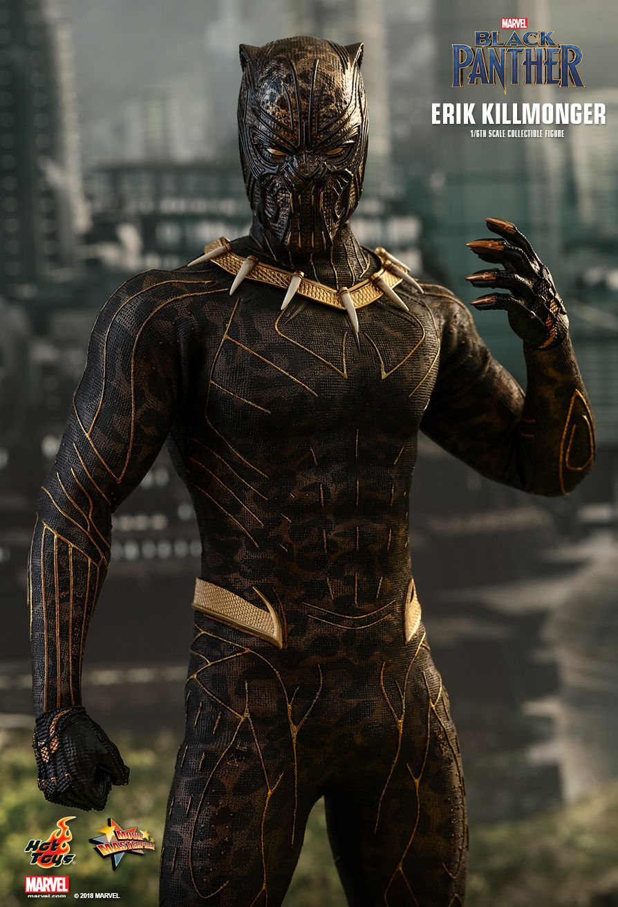 Hot Toys : Black Panther - Erik Killmonger 1/6th scale Collectible Figure