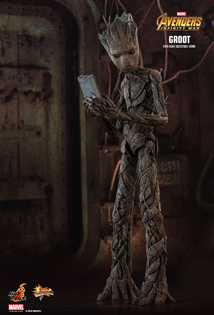 hot toys avengers infinity war groot 16th scale