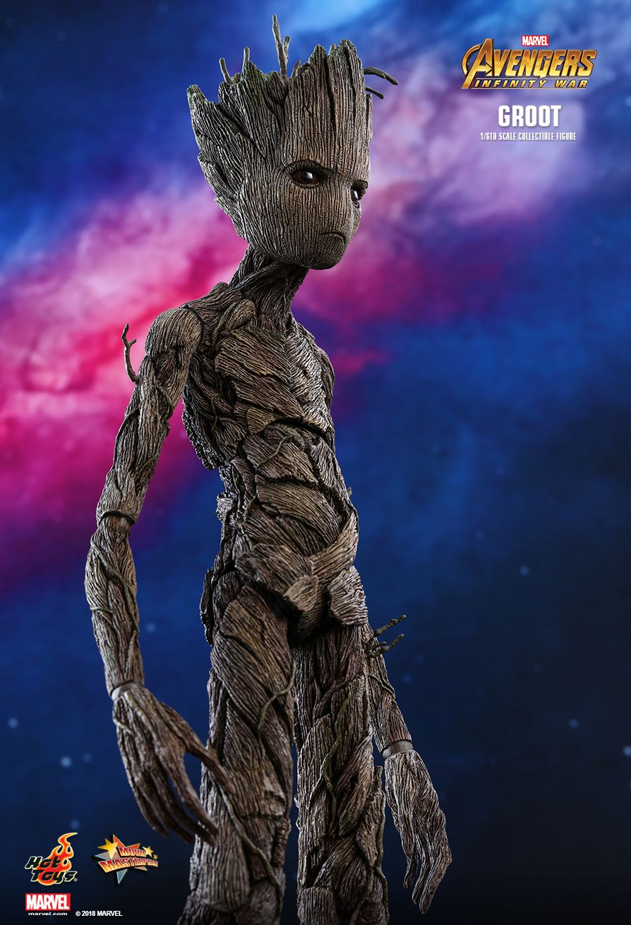 Hot Toys Avengers Infinity War Groot 1 6th Scale