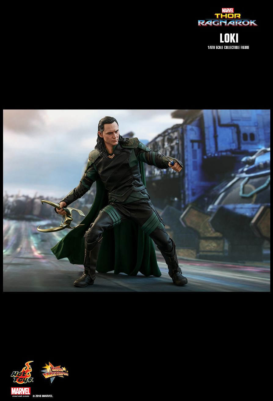 Hot Toys : Thor: Ragnarok - Loki 1/6th scale Collectible Figure