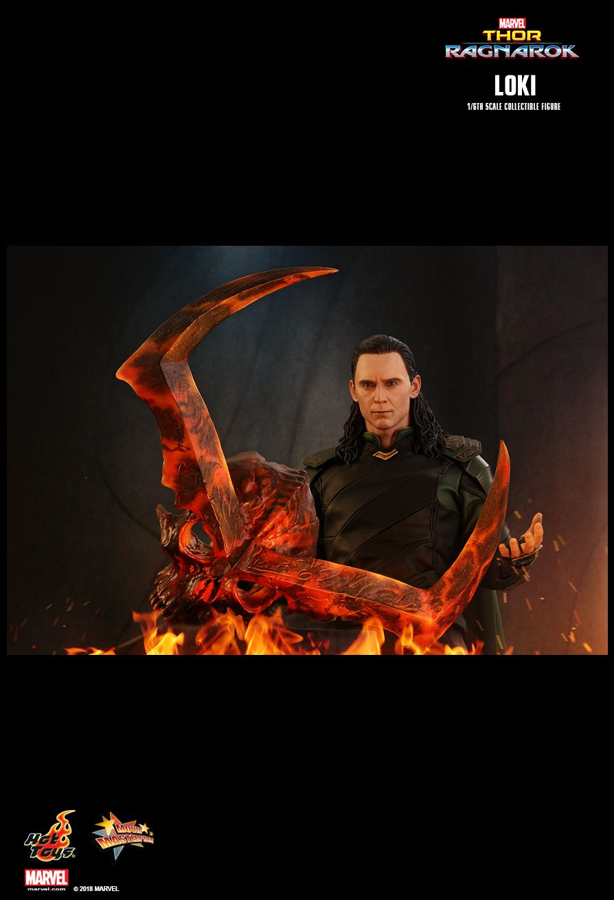 Hot Toys : Thor: Ragnarok - Loki 1/6th scale Collectible Figure