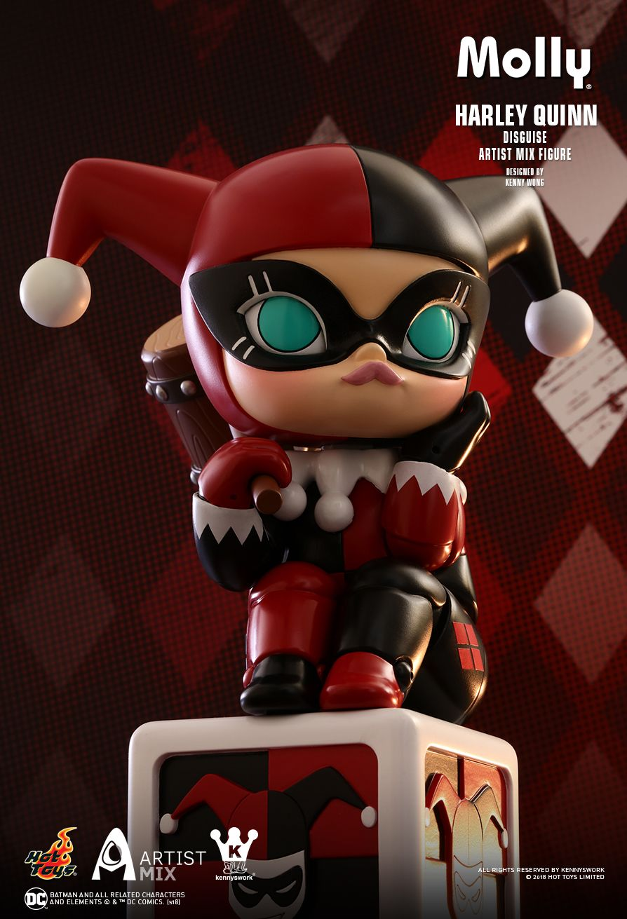 Hot Toys : - Molly (Harley Quinn Disguise) Artist Mix Figure Designed by Kenny Wong