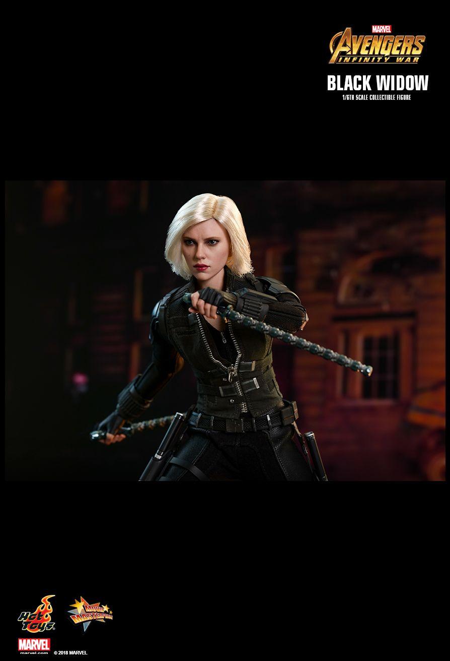 Hot Toys Avengers Infinity War Black Widow 1 6th