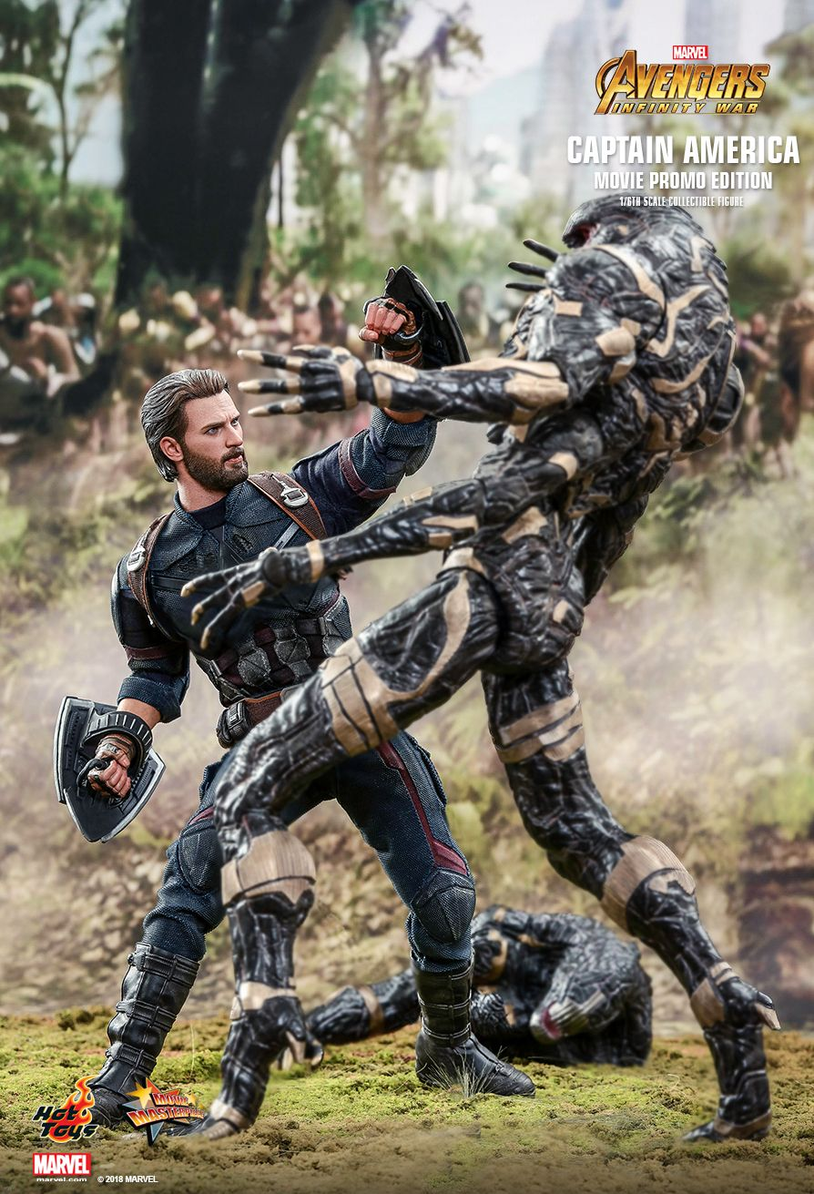 Hot Toys Avengers Infinity War Captain America Movie