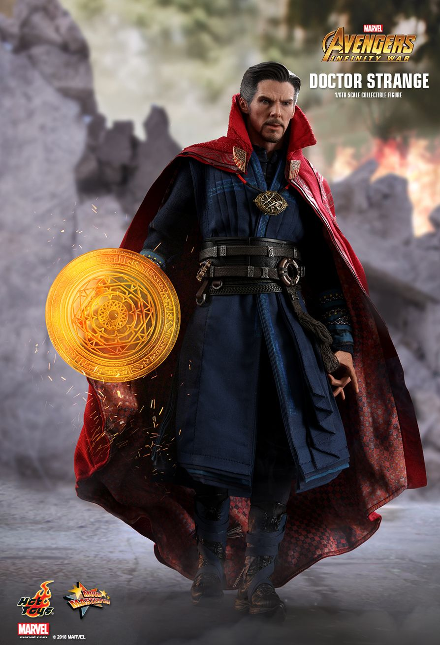HotToys HT MMS484 1//6 Avengers Infinity War Doctor Strange 2.0 Scene Accessories