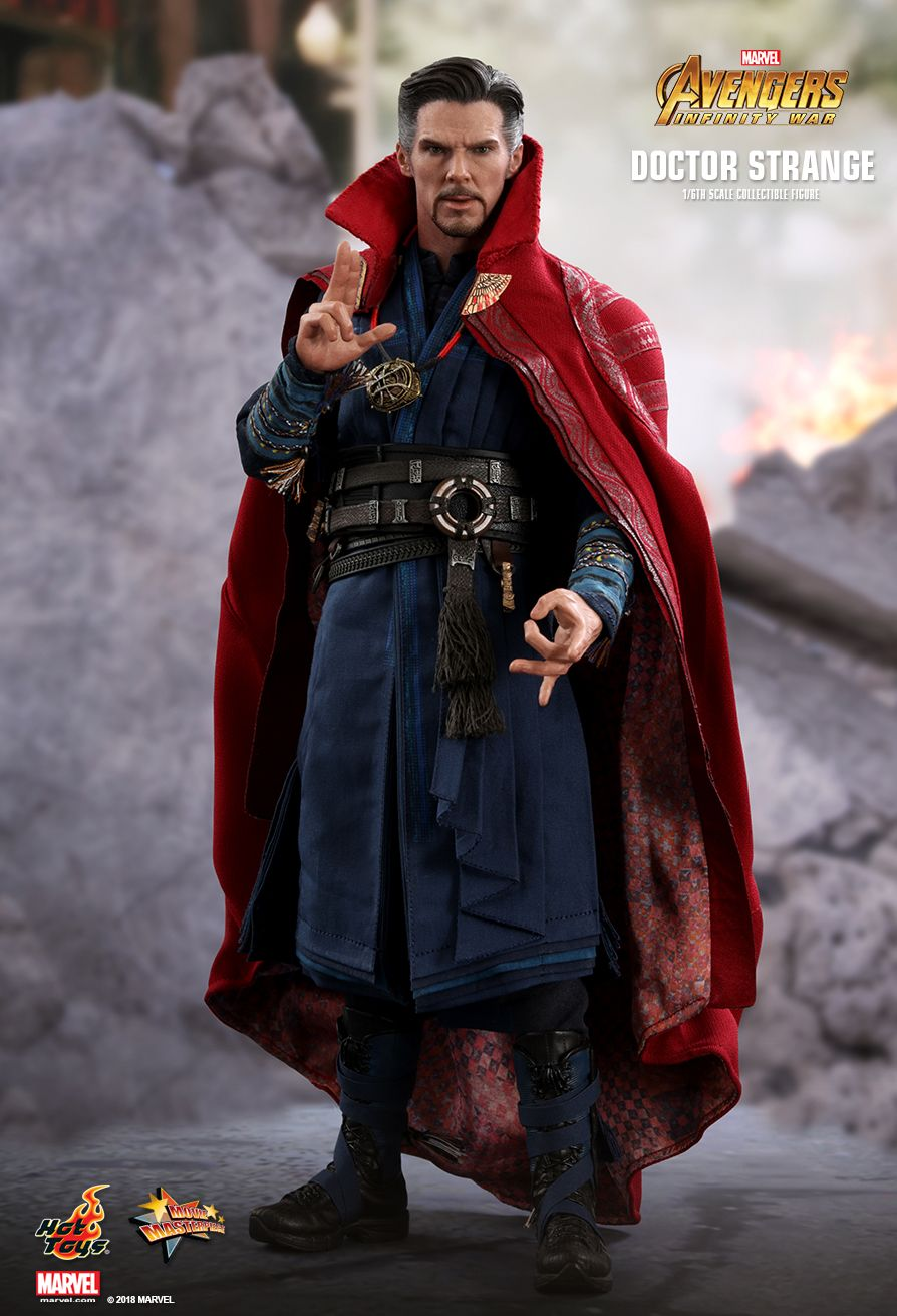 Infinity War DOCTOR STRANGE Figure 1//6th Scale PANTS Hot Toys MMS484 Avengers