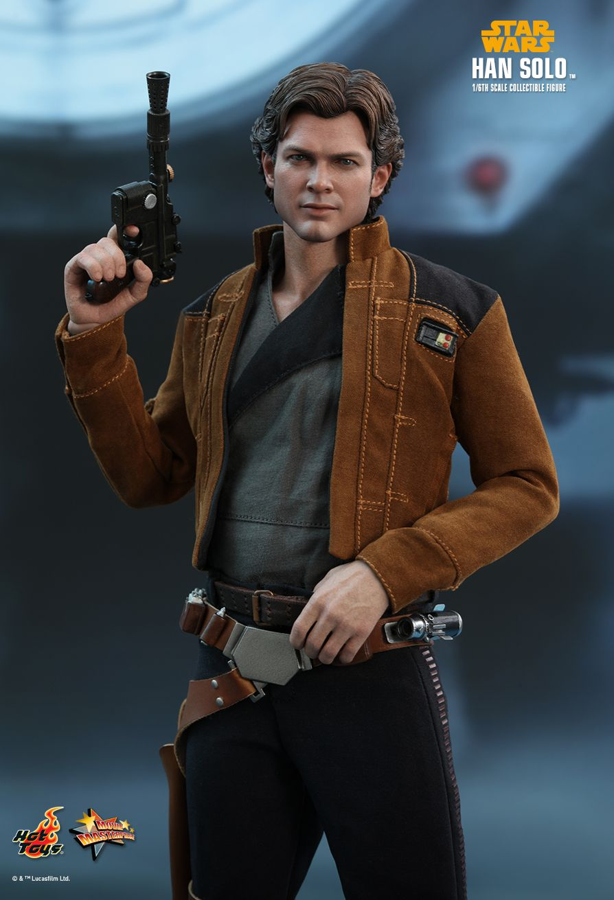 Hot Toys Solo A Star Wars Story Han Solo 1 6th Scale