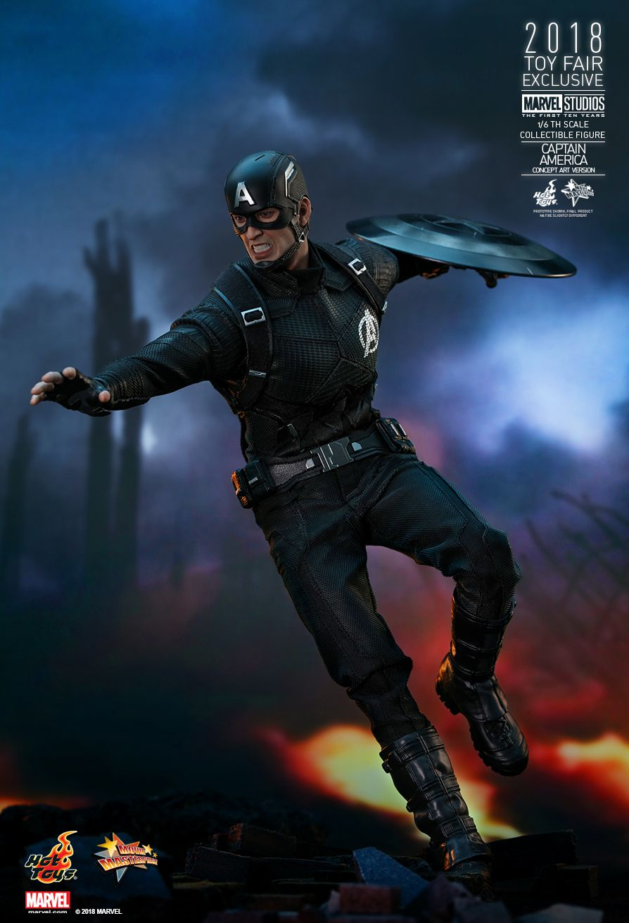 hottoys吧_Hot Toys : Marvel Studios: The First Ten Years - Captain America (Concept Art Version ...