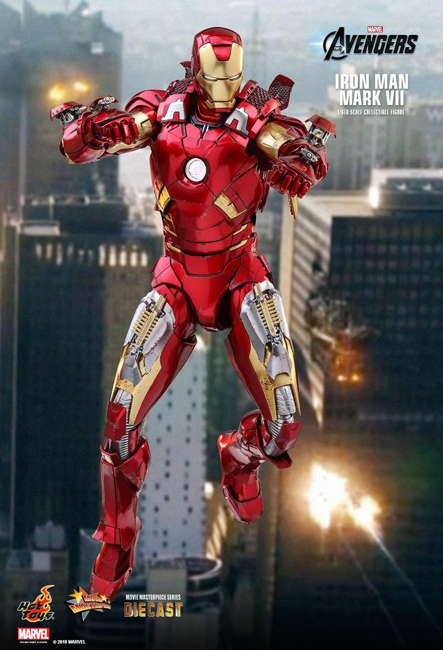 Hot Toys : The Avengers - Iron Man Mark VII 1/6th scale Collectible Figure