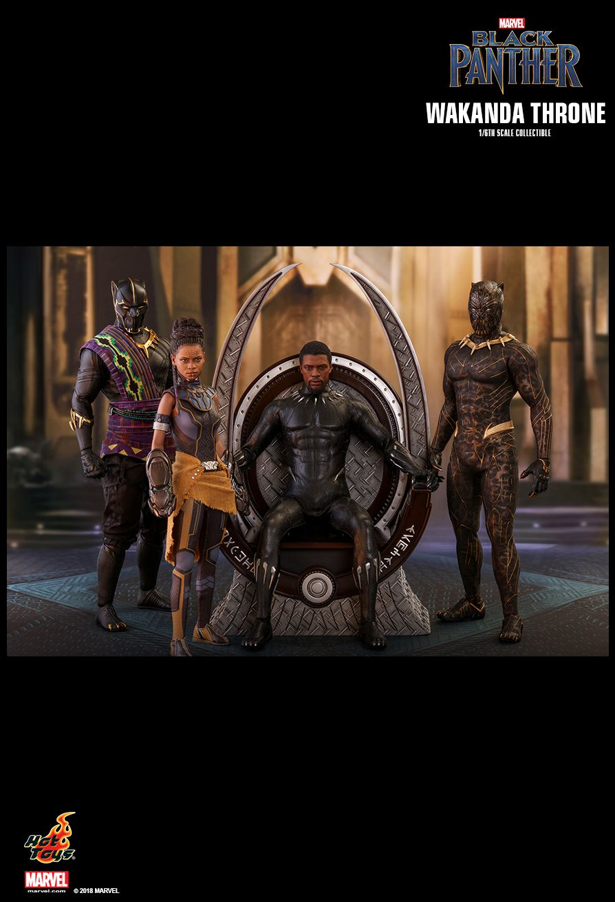 Hot Toys : Black Panther - Wakanda Throne 1/6th scale Collectible Figure
