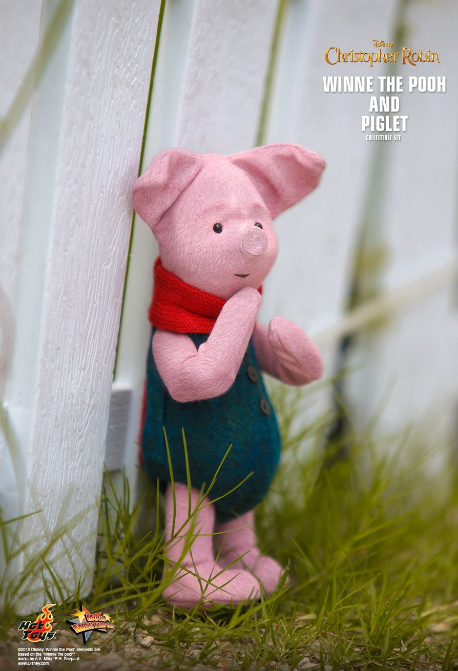 Hot Toys : Christopher Robin - Winnie the Pooh and Piglet Collectible Set