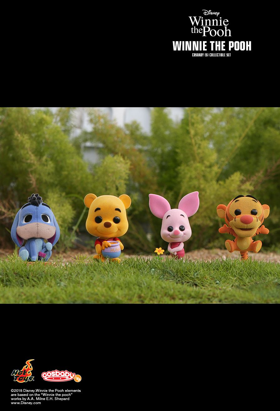 Hot Toys : Winnie the Pooh - Winnie the Pooh Cosbaby (S)