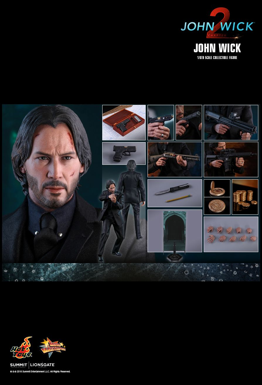 Hot Toys : John Wick: Chapter 2 - John Wick® 1/6th scale Collectible Figure