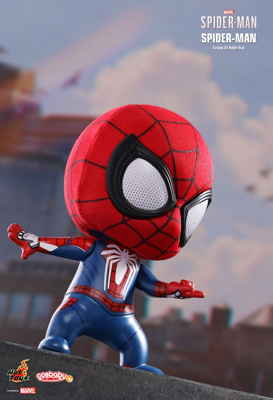 Hot Toys : Marvel's Spider-Man - Spider-Man Cosbaby (S) Bobble-Head