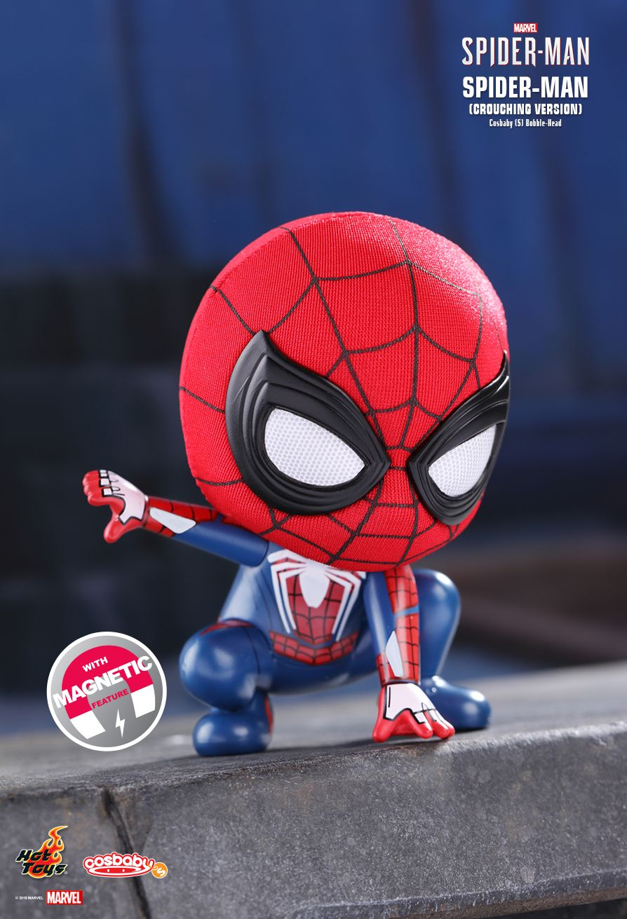 Hot Toys COSBABY COSB513 Spider-Man Bobble-Head Figure Toy Collection