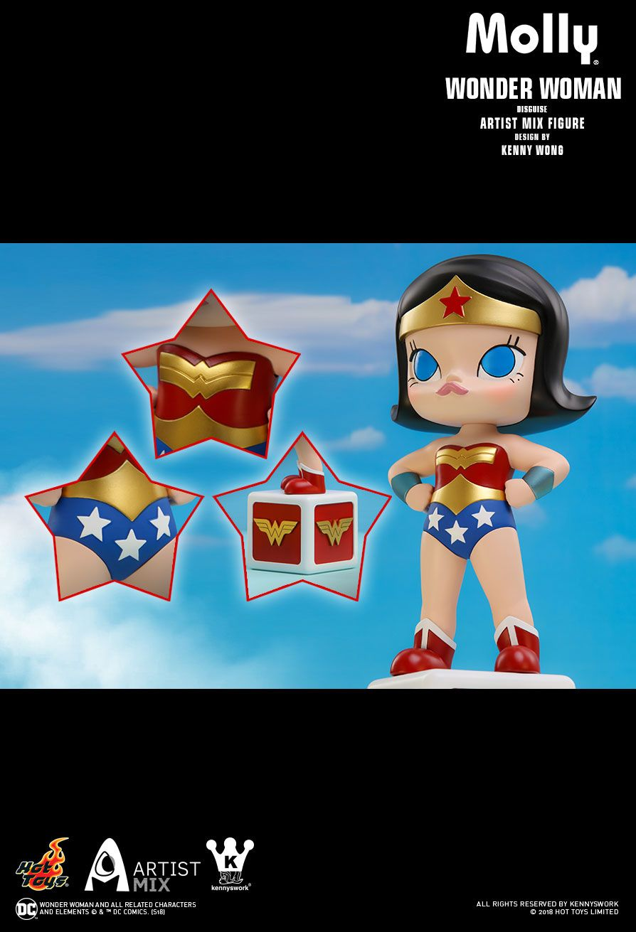 Hot Toys : - Molly (Wonder Woman Disguise) Artist Mix Figure Designed by Kenny Wong
