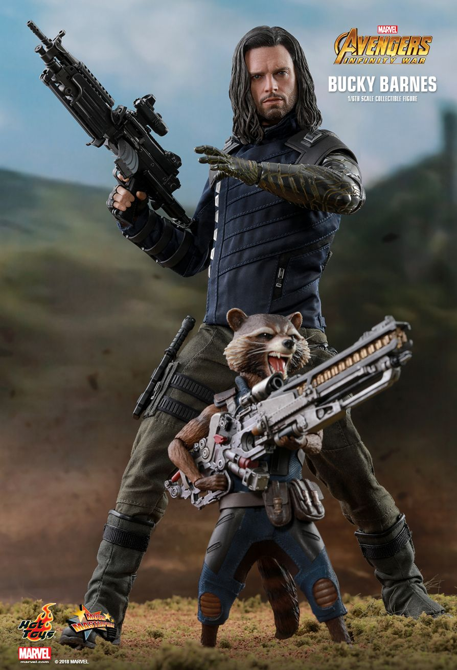 Hot Toys : Avengers: Infinity War - Bucky Barnes 1/6th scale Collectible Figure