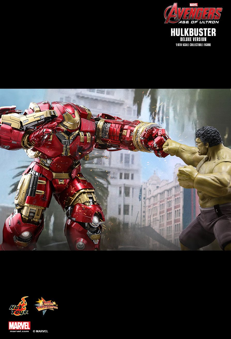 Hot Toys : Avengers: Age of Ultron - Hulkbuster (Deluxe Version) 1/6th scale Collectible Figure