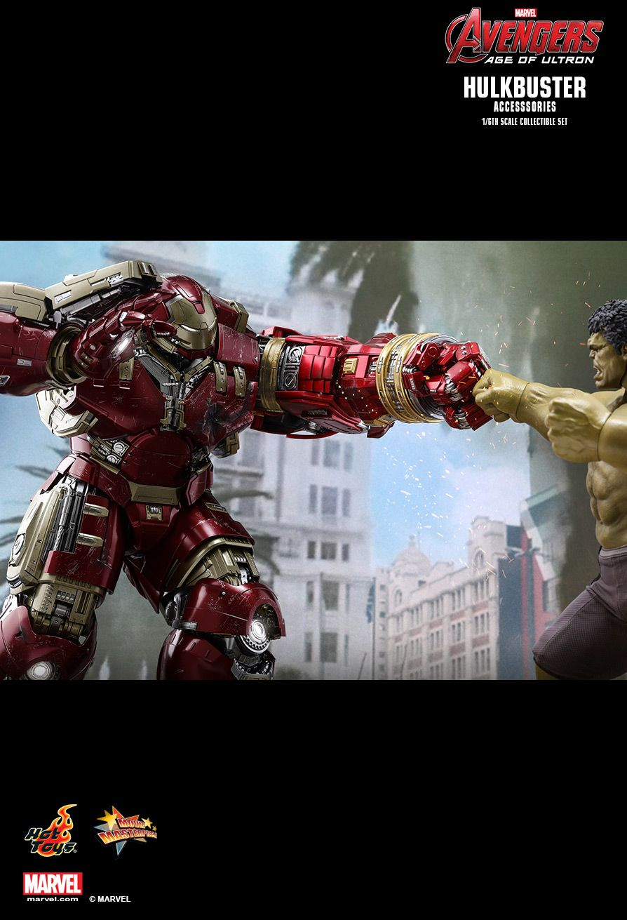 Hot Toys : Avengers: Age of Ultron - Hulkbuster 1/6th scale Accessories Collectible Set