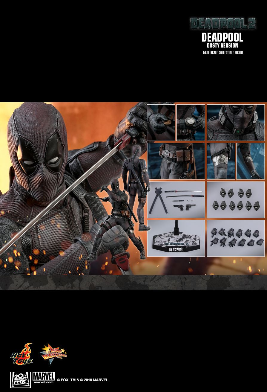 Hot Toys : Deadpool 2 - Deadpool (Dusty Version) 1/6th scale Collectible Figure