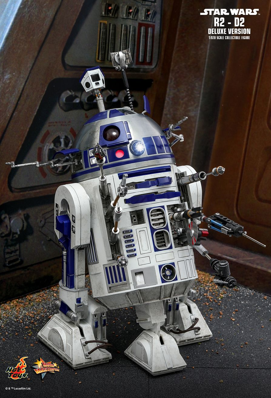Hot Toys : Star Wars - R2-D2 Deluxe Version 1/6th scale Collectible Figure