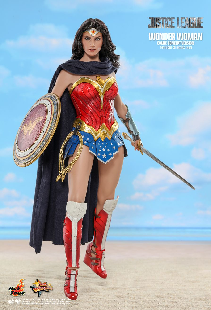 Hot Toys : Justice League - Wonder Woman (Comic Concept Version) 1/6th scale Collectible Figure