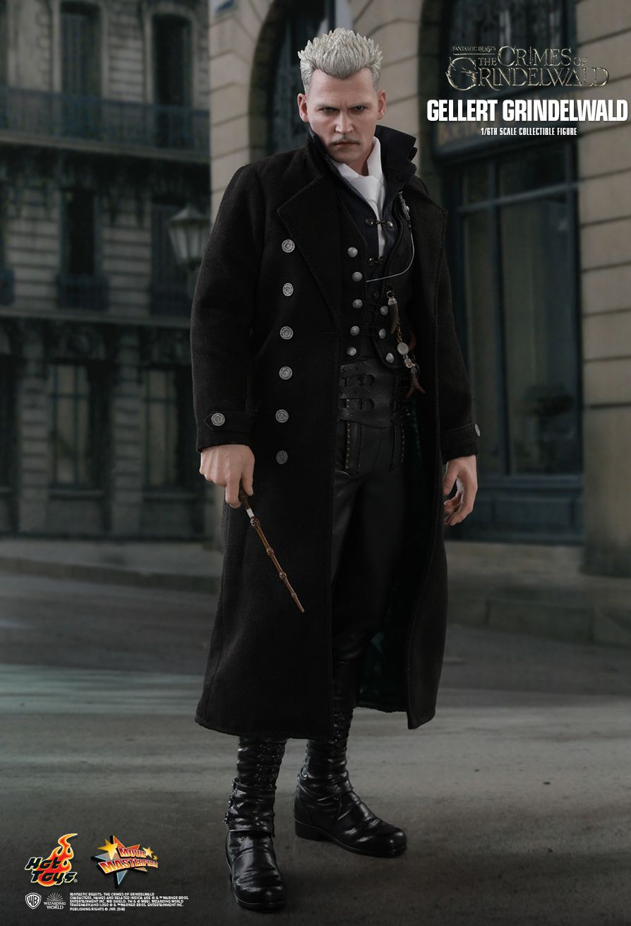 Hot Toys : Fantastic Beasts: The Crimes of Grindelwald - Gellert Grindelwald 1/6th scale Collectible Figure