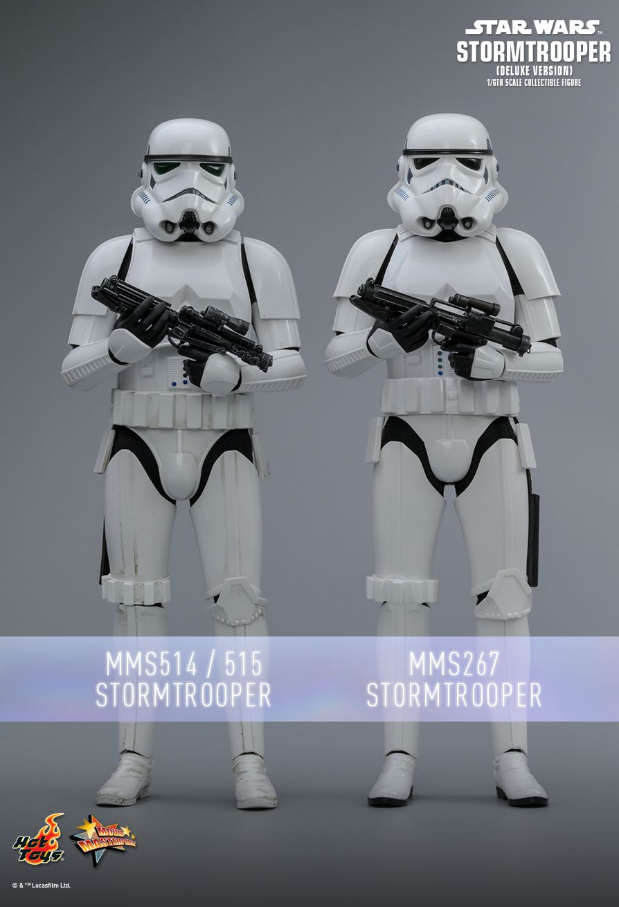 Hot Toys : Star Wars - Stormtrooper (Deluxe Version) 1/6th scale Collectible Figure