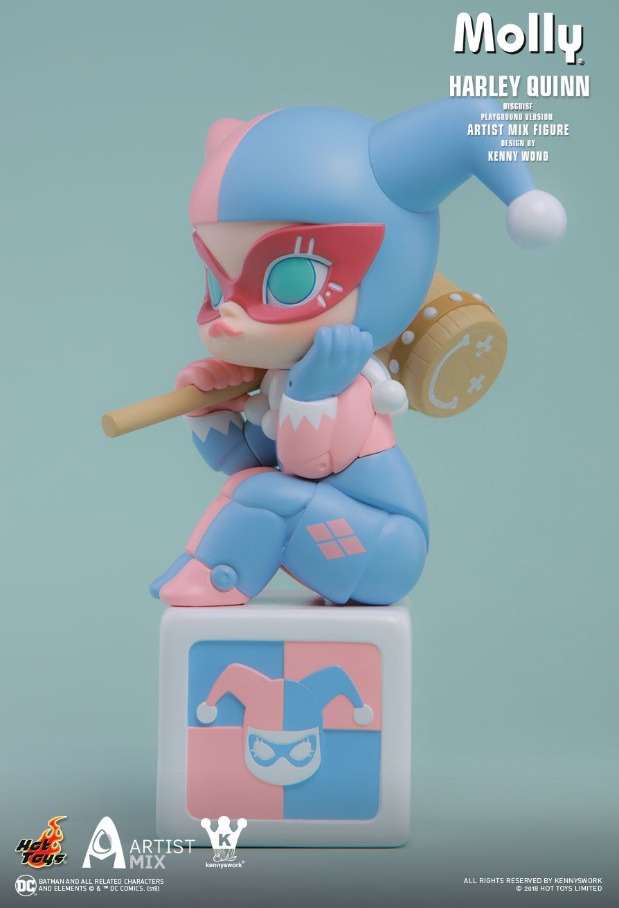 Hot Toys : - Molly (Harley Quinn Disguise) Playground Version Artist Mix Figure Designed by Kenny Wong