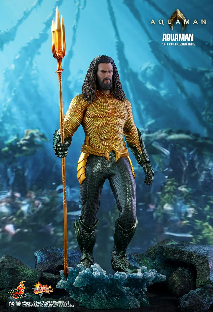 Hot Toys Aquaman Aquaman 1 6th Scale Collectible Figure