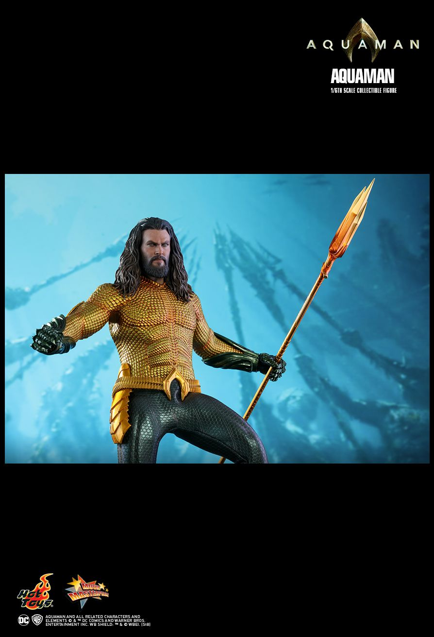 Hot Toys : Aquaman - Aquaman 1/6th scale Collectible Figure