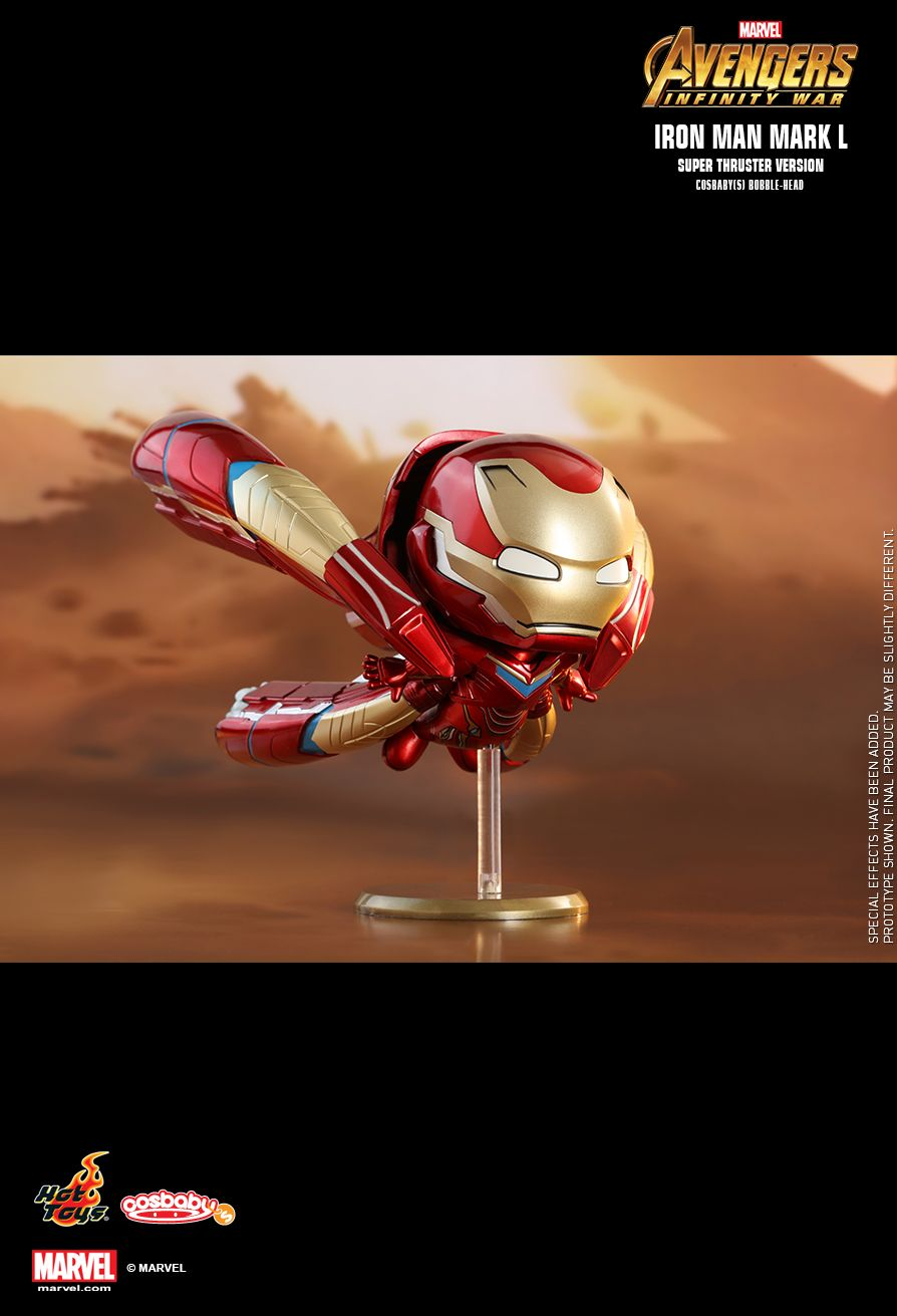 Hot Toys : Avengers: Infinity War - Iron Man Mark L (Super Thruster Version) Cosbaby (S) Bobble-Head