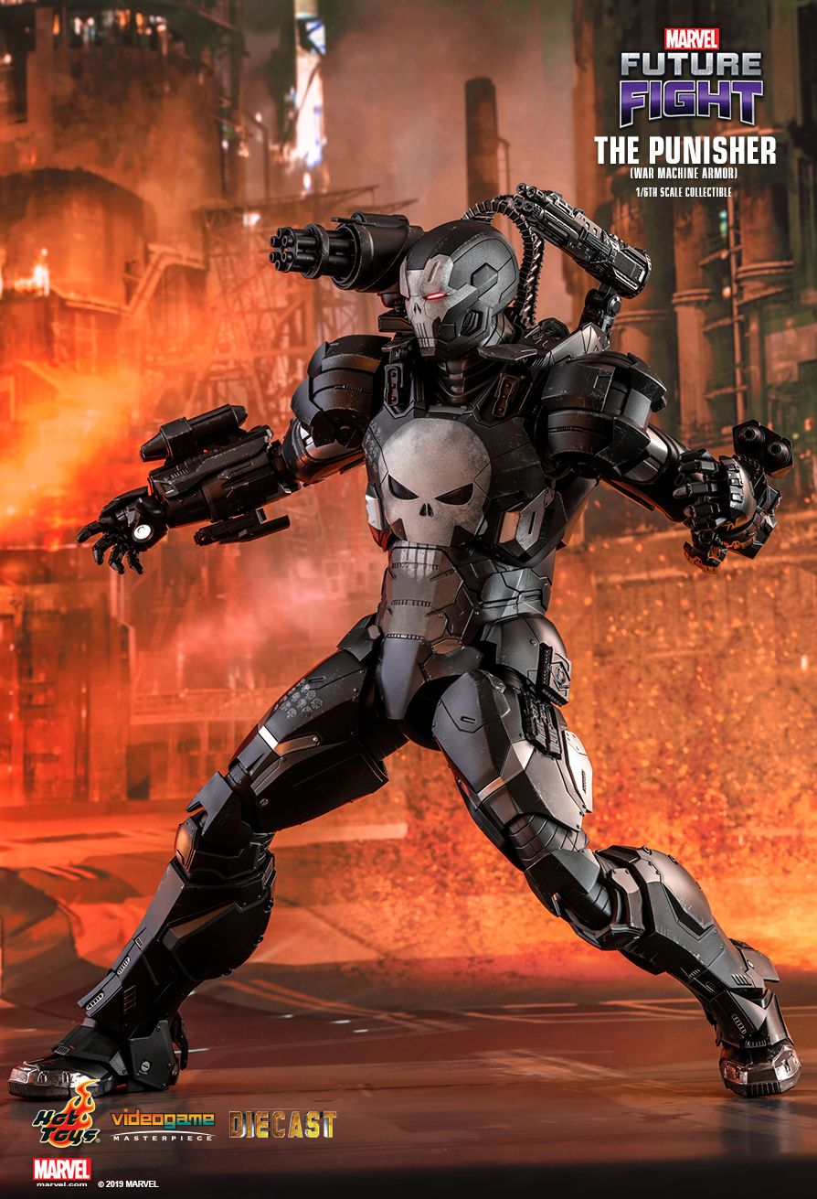 Hot Toys : MARVEL Future Fight - The Punisher (War Machine Armor) 1/6th scale Collectible Figure