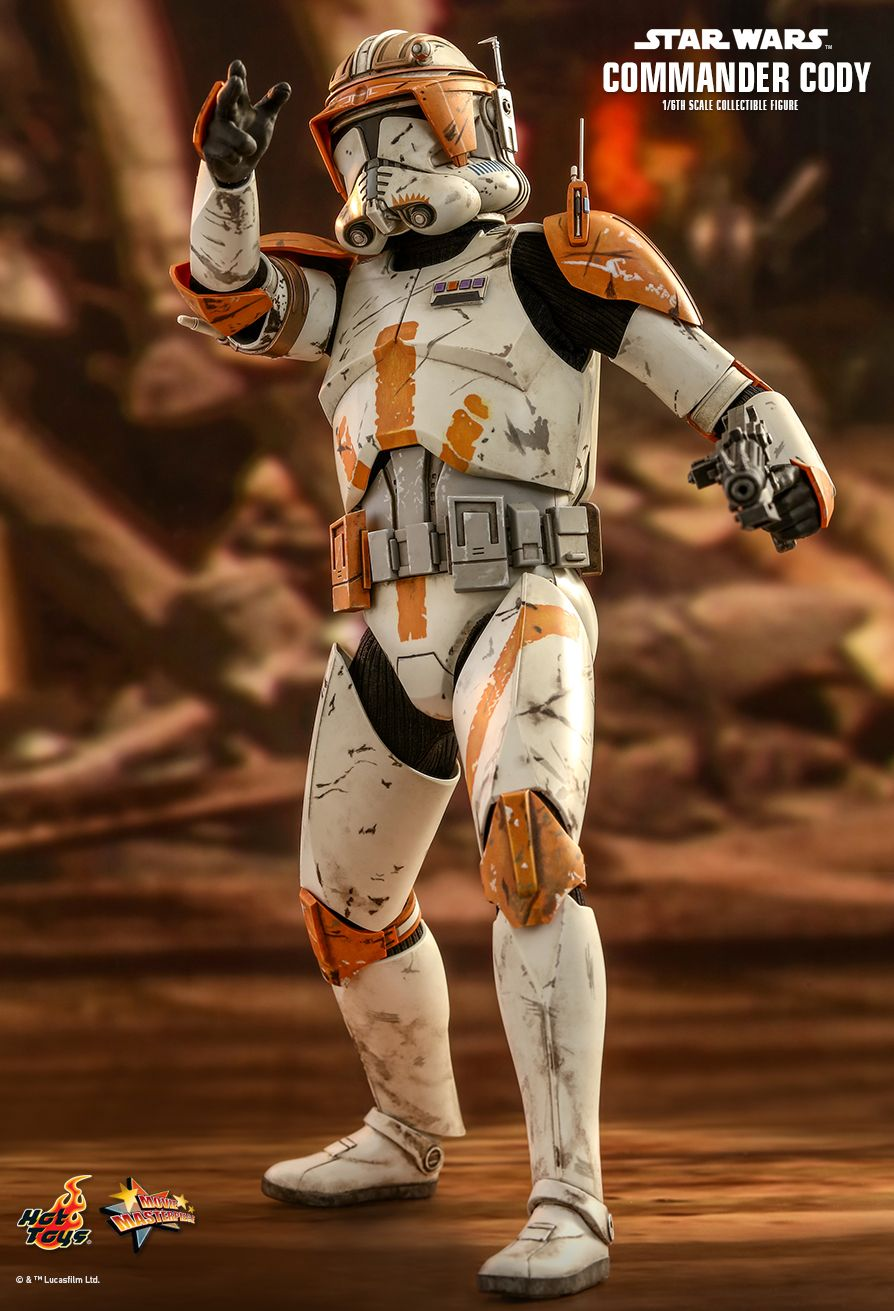 Hot Toys : Star Wars: Episode III Revenge of the Sith - Commander Cody 1/6th scale Collectible Figure