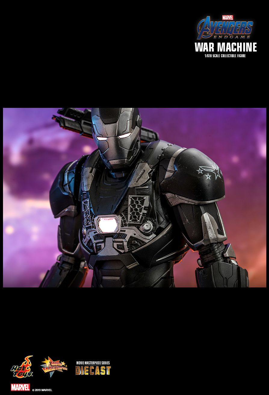 Hot Toys : Avengers: Endgame - War Machine 1/6th scale Collectible Figure