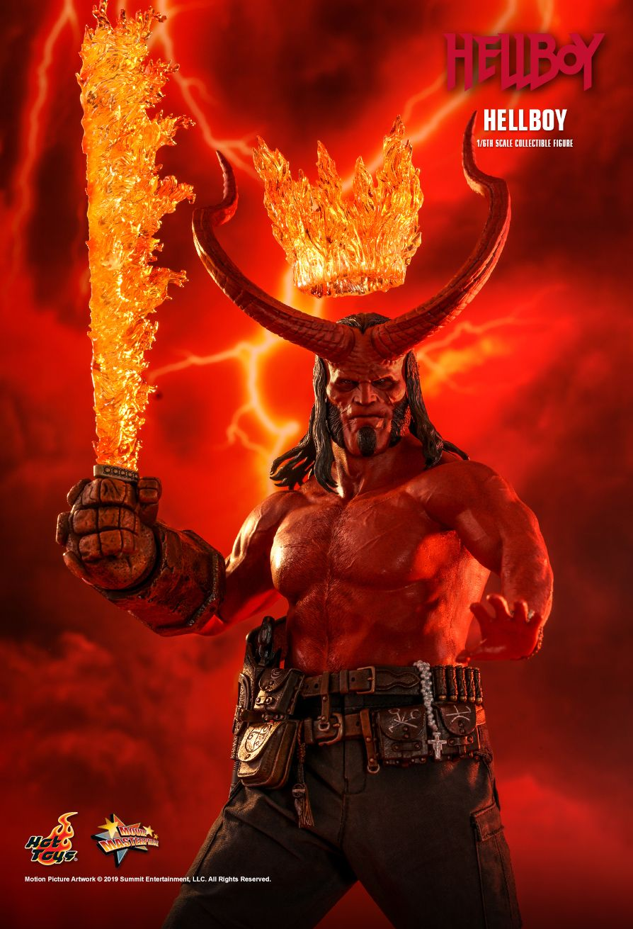 Hot Toys : Hellboy - Hellboy 1/6th scale Collectible Figure