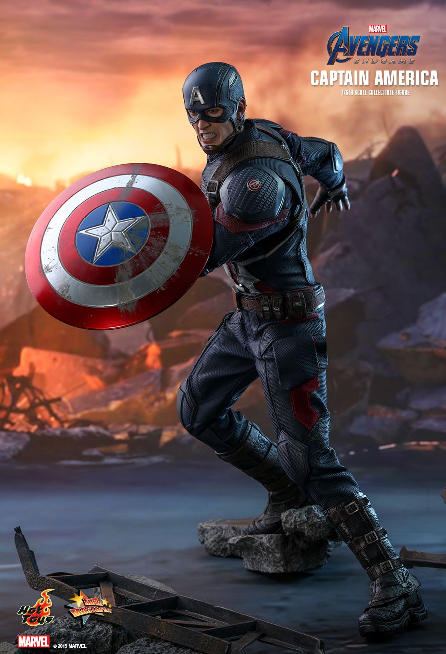 Hot Toys : Avengers: Endgame - Captain America 1/6th scale Collectible Figure