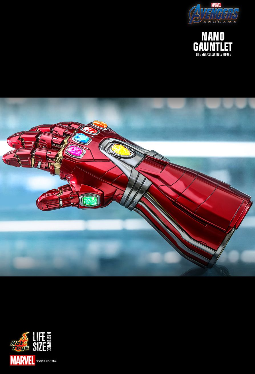 Hot Toys : Avengers: Endgame - Nano Gauntlet Life-Size Collectible