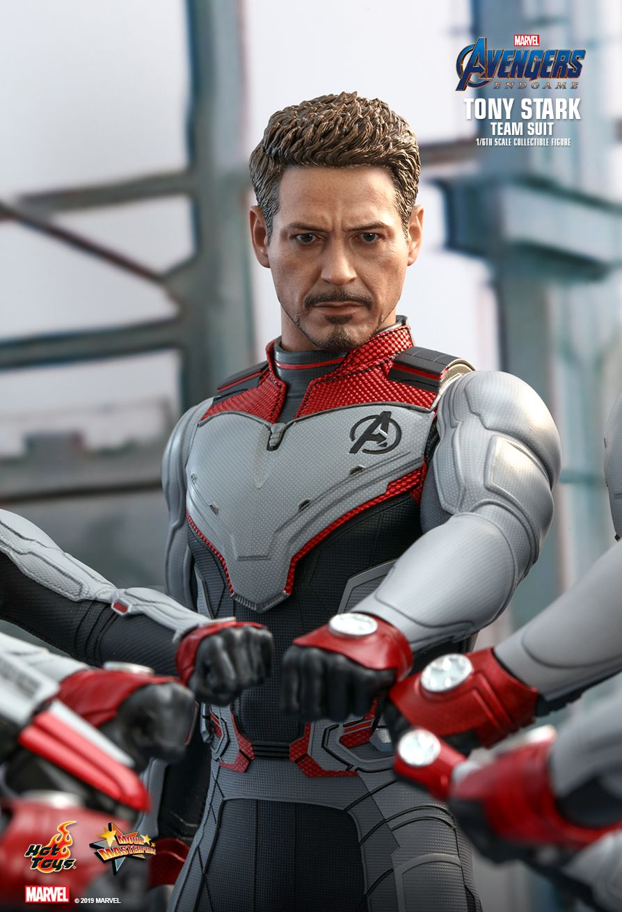 Hot Toys : Avengers: Endgame - Tony Stark (Team Suit) 1/6th scale Collectible Figure