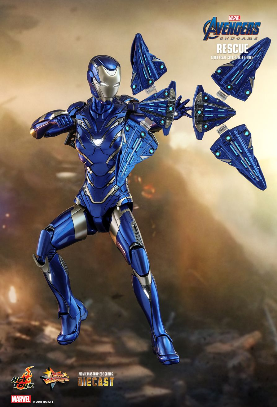 Hot Toys : Avengers: Endgame - Rescue 1/6th scale Collectible Figure
