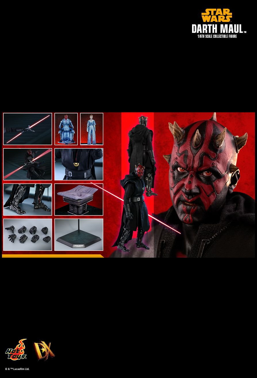 Hot Toys : Solo: A Star Wars Story - Darth Maul 1/6th scale Collectible Figure