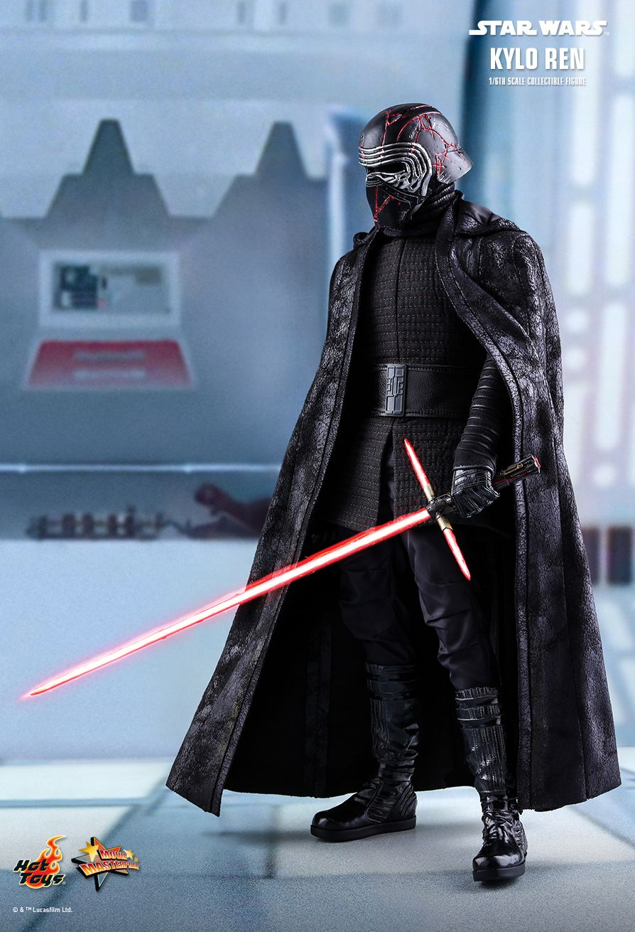 Hot Toys Star Wars The Rise Of Skywalker Kylo Ren 1 6th Scale Collectible Figure